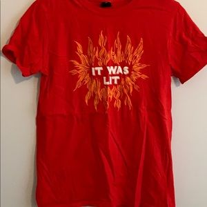 UO It Was Lit t-shirt